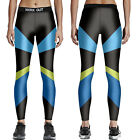 New Fashion Sport Ladies Patchwork Pants Bodycon High Waist Fitness Yoga Legging