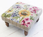 Voyage Maison Fabric Kastra Square Foot Stool Collection Various Style In Stock!