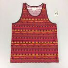 Obey Ottoman Tank Tee Vest- Red - Size S, L