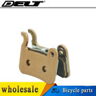 Metallic bicycle disc brakes pads for SHIMANO Deore M535 596 665 HONE M601 M585