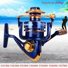 12BB Fishing Reel Spinning Metal Spool Reels Ball Bearings High Speed FH Series