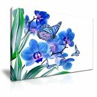 Beautiful Butterfly Flower Canvas Art Picture Print Decoration 5 Sizes Choose