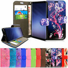 FLIP WALLET PU LEATHER PHONE CASE COVER FOR SAMSUNG GALAXY S4 S5 & S6