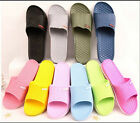 Mens Ladies Shower  Shoes Sport Flip Flop Plastic Slip House Shoes Sandals Beach