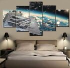 Star Wars Rogue One Capital One Ship, 5 Panel Framed Canvas Wall Art Home Decor $99.33 CAD