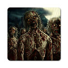 Zombies 2 - Oversized Rubber Coasters Set of 4 or 6
