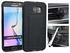 KroO TPU Card Case + Magnetic Car Mount Samsung Galaxy S6