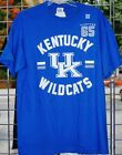 Kentucky Wildcats Classic Decal Royal Blue and White T shirt TOTAL CLOSEOUT