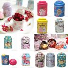 New Wedding Flower Candy Coffee Tea Sealed Can Container Jar Tin Box Metal box