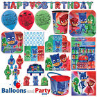 PJ Masks Catboy Owlette Gekko Birthday Party Ware Supplies Complete Pack Kit