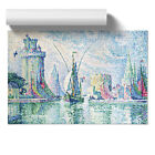Poster Print Wall Art Paul Signac Green Towers the Rochelle Landscape Home Décor