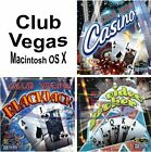 Club Vegas Casino Games Assortment MAC Macintosh OS X PC Windows Sealed New