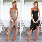 Women Casual Summer Short Mini Dress Cocktail Party Evening Bodycon Sleeveless