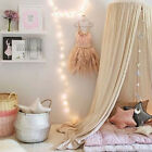 Kids Baby Bedding Round Dome Bed Canopy Netting Bedcover Mosquito Net Curtain SF