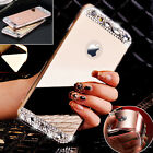 Luxury Bling Ultra thin Crystal Diamond Mirror Case Cover For iPhone 6s 7 7Plus