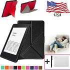 Thinnest Smart Sleep Leather Stand Cover Case For Amazon Kindle Paperwhite 6IN