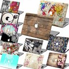 "Painted Hard Rubberied Case +Keyboard Cover For New Macbook Pro Air 11"" 13"" 15"""
