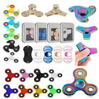 3D EDC Hand Finger Tri-Spinner Fidget Anti-Stress Focus Desk Toy ADHD Rainbow