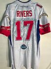 NFL Rivers Pro Bowl Chargers Authentic American Football Shirt Jersey $120.28 USD on eBay