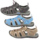 New Gola Womens Sports Trekking Shingle 3 Walking Trail Touch Fastener Sandals
