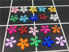 NEW DIY 12MM Resin Flower shape Flat back Scrapbooking craft/Wedding decoration