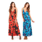 Pistachio Womens Poppy Crossover Maxi Ladies Cotton Long Summer Evening Dress