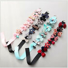 8pcs Baby Girls Multi-style Ribbon Bow Flower Hair Clips Children Hairpins JR