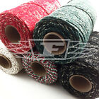 MIXED PACKS CHRISTMAS BAKERS TWINE XMAS BUTCHERS BAKERS ART CRAFTS SPARKLING