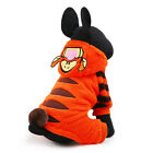 New Petcircle Cute Soft Warm Orange Cartoon Tiger Cosplay  Dog Puppy Clothes