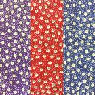 "Floral POLYCOTTON FABRIC - Spotty Poppy - Flower Material - 114cm / 45"" Wide"