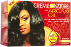 CREME OF NATURE WITH ARGAN OIL FROM MOROCCO RELAXER (REGULAR OR SUPER) NEW LOOK