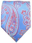 Alaskan Blue and Red Paisley Men's Tie