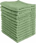 Wash cloths, Facial Towelettes, Cotton Hand Towels (12 Pack) 12x12 Inch фото