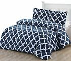 Printed Comforter Set with 2 Pillow Shams Brushed Microfiber by Utopia Bedding