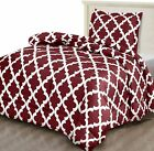 Comforter Set Soft- 2 Pillow Shams- Complete Printed by Utopia Bedding