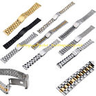 Stainless Steel Straight End Wrist Watch Band Strap Bracelet Replacement 14-24mm