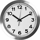 Wall Clock Large Decorative Universal Non Ticking & Silent 12-inches Wall