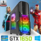 Ultra Fast Quad Core Gaming Pc I7 16gb Ram 2tb Gtx 1650 Windows 10 Computer