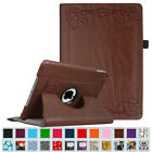 """For Apple Ipad 9.7"""" 2017 Case Rotating Leather Smart Stand Cover Auto Wake/sleep"""