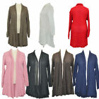 Woman Knitwear Ladies Long Sleeve Waterfall Style Cardigan Plus Size 16-26