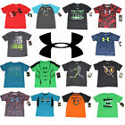 Under Armour Boys T-Shirt Tee - Size 2T, 3T, 4T, 4, 5, 6, 7 - 45+ Styles - NEW