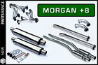 Morgan Plus 8 +8 V8 Stainless Steel SS Exhaust System Decatted V8 Engines