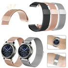 For Samsung Gear S3 Classic / Frontier Smart Watch Band Wrist Strap Magnet Lock image