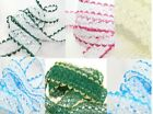 """""""Laces Galory"""" ~ 10 mt Eyelet Knitting Lace All Shades Trim Knit Sew"""