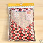 UNIQLO Orla Kiely Heattech Red V Neck T Shirt from Japan