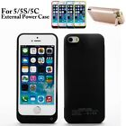 4200mAh External Power Bank Battery Case Charger Cover for iPhone 5 5C 5S