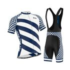 FDX Mens &quot;Limited Edition&quot; Cycling Bib Gel Padded shorts + Cycling Jersey Combo  <br/> ✓ Italian Fabric ✓Fast &amp; Free Deliver ✓ Easy Returns