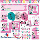 Disney Minnie Mouse Fun One 1st Birthday Party Tableware Dec