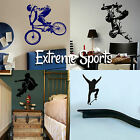 Extreme Sports Wall Stickers! Transfer Graphic Decal Decor Art Stencil Boy  Room