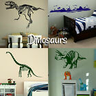 Dinosaur Wall Stickers! Transfer Prehistoric Graphic Decal Decor Dino Stencil